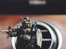 Gundam MMJ Black Car Air Fragrance