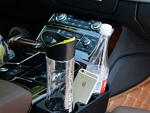 Car Dual Drink Bottle Holder Tray