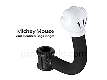 Mickey Mouse Arm Headrest Bag Hanger