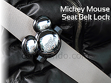 Mickey Mouse Seat Belt Lock