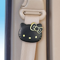 Black Gold Hello Kitty Seat Belt Lock