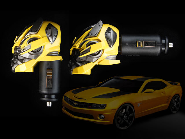 Car Tracking Devices >> Transformers - Bumblebee Car Charger