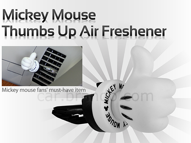 Mickey Mouse Thumbs Up Air Freshener
