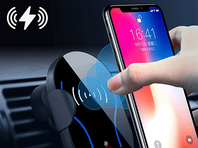 Automatic Induction Infrared Fast Wireless Charging 10W for Samsung for iPhone
