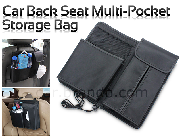 Back Seat Multi Pocket Storage Bag
