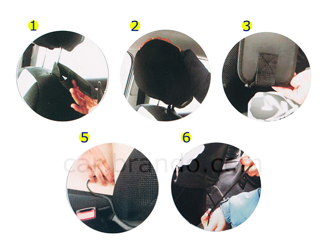 Car Seat Organizer and Storage Bag