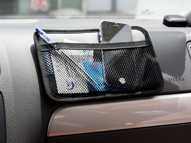 JK-56 Side Mesh Storage Pocket Holder