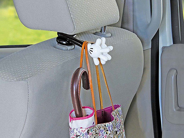 Mickey Mouse Hand Headrest Bag Hanger