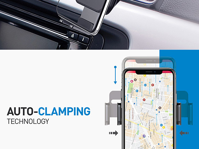 Q Auto Brandon >> Momax Q Mount Smart Auto Clamping Wireless Charging Car Mount